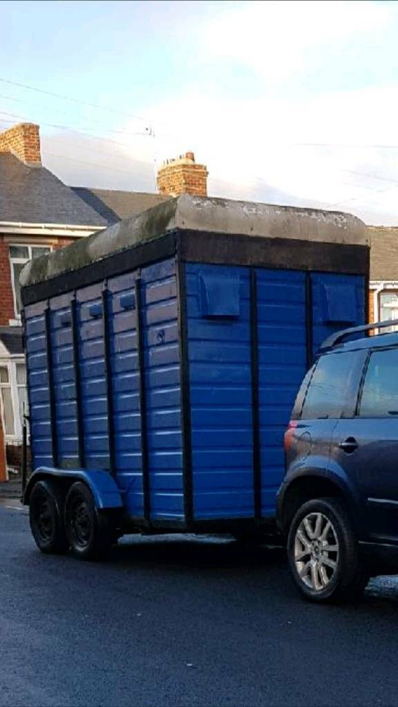 Horse trailer will make ideal food trailer