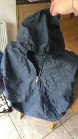 Buggy rain cape - Navy blue, still with label