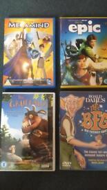 4x various DVDs