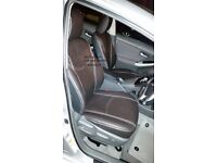 LEATHER SEAT COVER FOR VOLKSWAGEN SHARAN, FORD GALAXY, VAUXHALL ZAFIRA, TOYOTA VERSO, TOYOTA ESTIMA