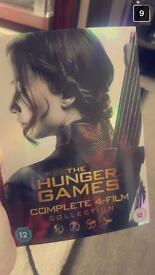 All hunger games collection dvds