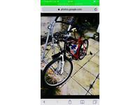 This Apollo Mountain bike frame for sale or swap
