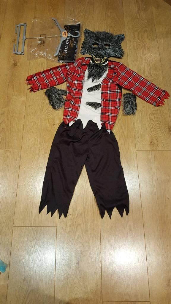 Boys Halloween werewolf outfit