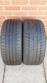 2 X 225/40R18 TYRES TESTED NO REPAIRS TREAD 6.5MM AND 4MM