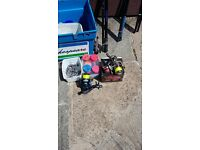 up for sale sea fishing gear