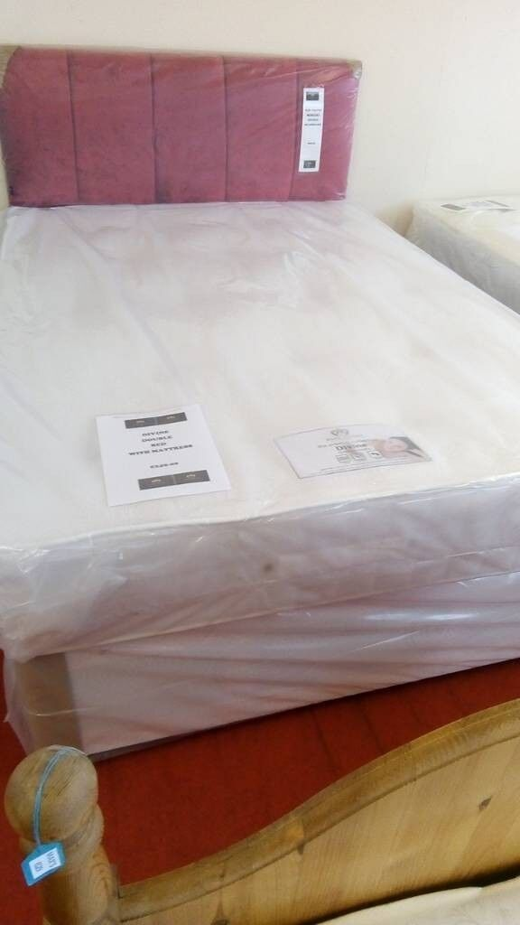 New Myer Adams divine double bed with mattress | in Leicester ...