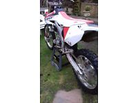 For Sale Mint condition Honda CRF 250 X