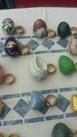 Franklin mint eggs job lot