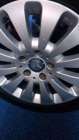 Mercedes alloys