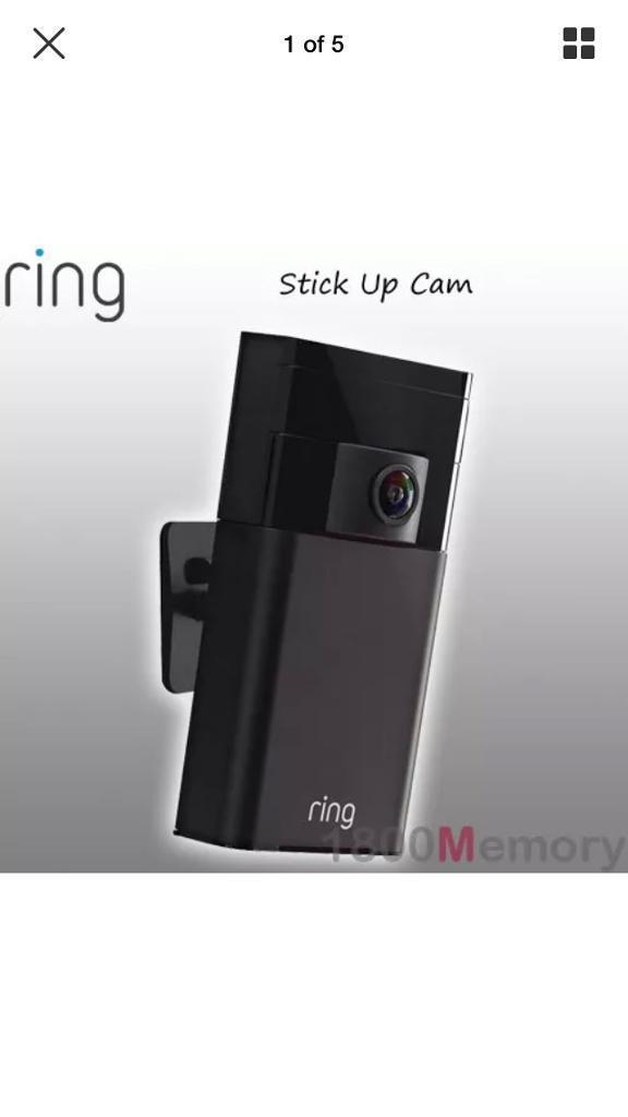 Ring stick up Security camera