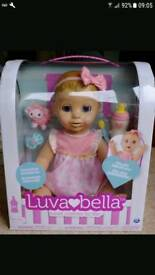 2 luvabella dolls brand new in box