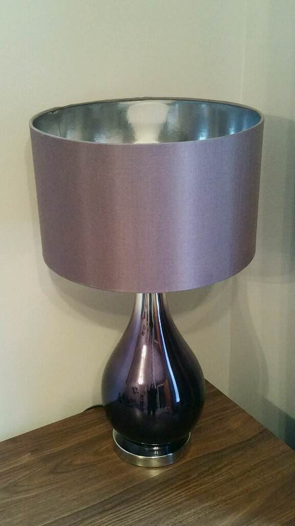 Next Mauve Plum Table Lamp In Dereham Norfolk Gumtree