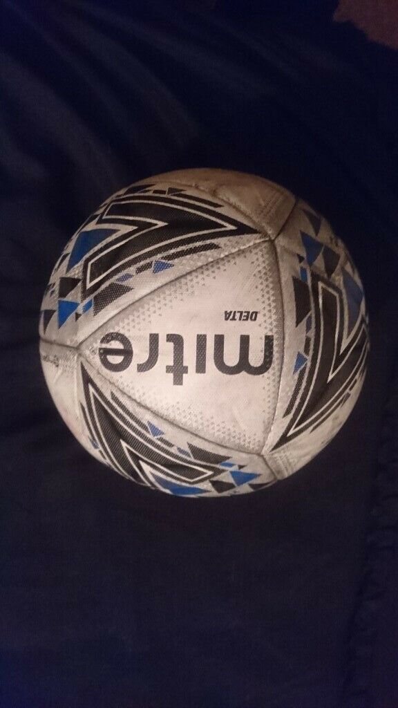 1cea9df7708 Mitre football used but in good con