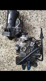 Peugeot Diesel pump and starting motor