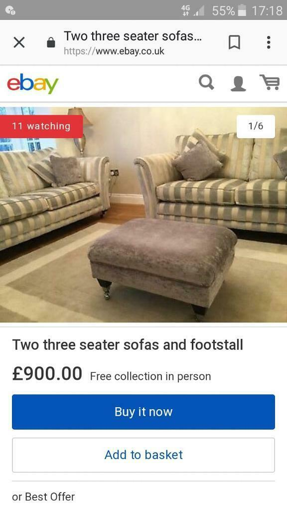 2 Seater Dfs Shackleton Sofa