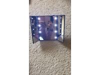 Led fancy mirrors for sale in 2 colours