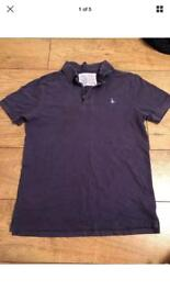 Jack Wills Navy Polo Top