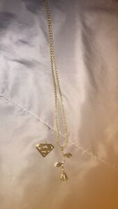 Gold chain & pendents