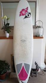 Surf board 7'3 Bic Mini Mal ladies board
