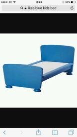 FREE kids blue IKEA bed need collecting asap