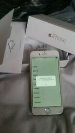Iphone 6. Gold.128gb. Unlocked.with box