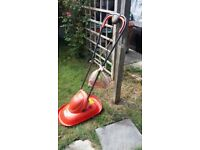 Lightweight flymo lawn mower good condition perfect working order buyer collectd