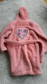 Lovely Fat Face dressing gown age 4-5 years