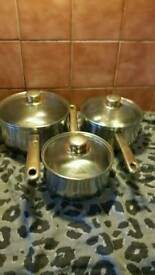 Quality set of pans