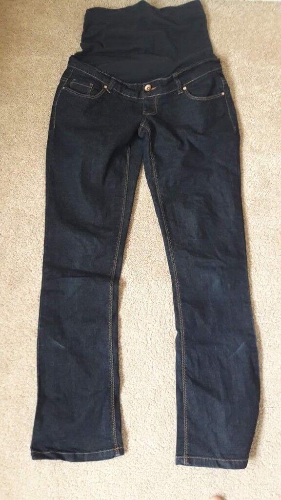 Maternity jeans (size 8)