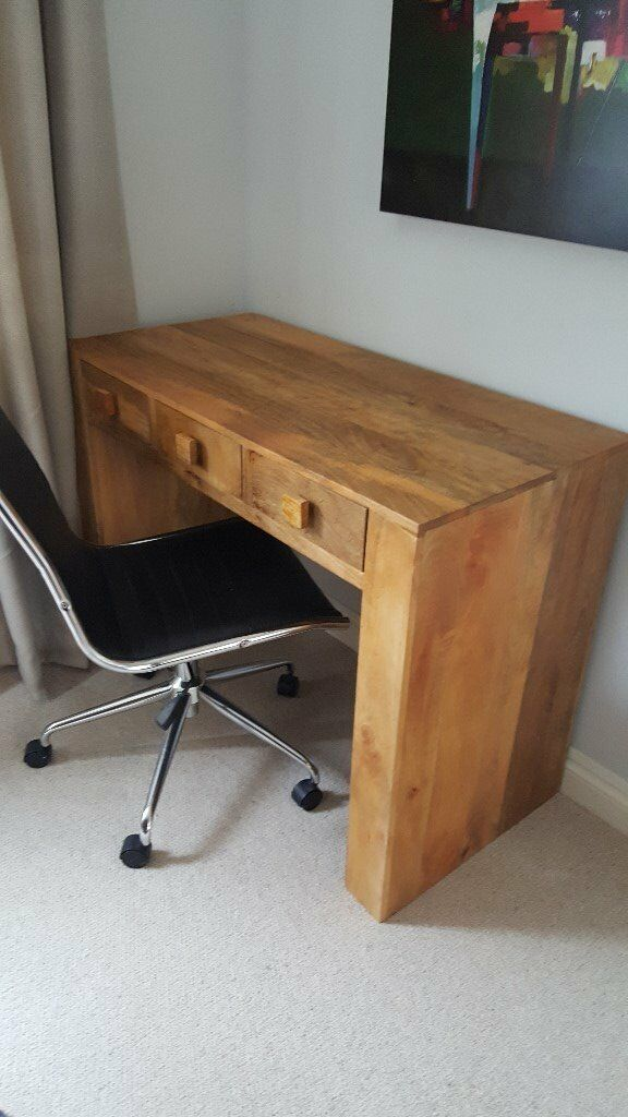 Solid Hardwood Desk