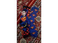 Kryptonite-free *New* Superman Trouser Socks!