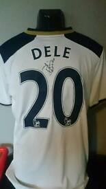 Dele Ali signed Spurs shirt 16/17 season with Coa