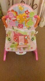 Fisher Price Baby Rocker.