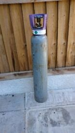 Welding Bottle with gas