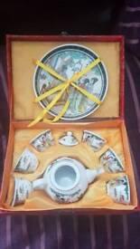 Chinese tea set from Hong Kong