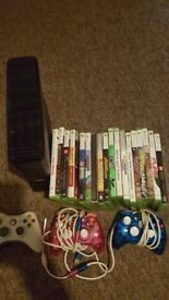 Xbox 360 s 4gb with games