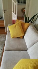 Two 3seater sofas £375 each ono (cost £1,100 each new).
