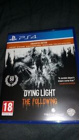 Dying Light The Following Enhanced Edtion PS4