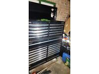 """Sealey 52"""" toolbox with Sealey tools and snapon and mac"""