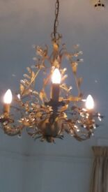John Lewis 3 Arm Chandelier light