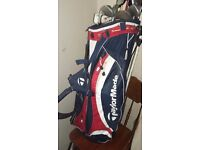 Ping G15 Driver, Calloway X-2 Tour Irons and Taylormade bag for sale