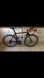 Planet X carbon fibre road bike