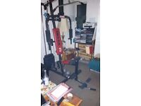multigym delta fit,comes apart for easy transport,will help if needed