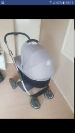 Oyster pushchair and carry cot