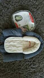 Car seat head & body support
