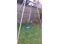 garden swing and slide vgc