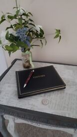 Brand New and boxed Visitors Book made by Mcdermott and Chant