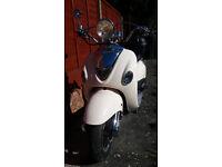 Lexmoto Valencia 50cc scooter.