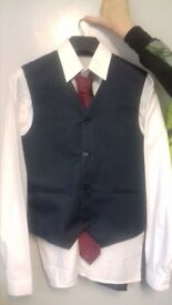 Navy 5 piece suit