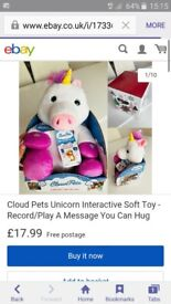 unicorn cloud pet